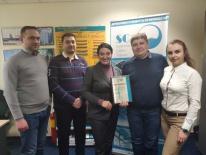 Вручение сертификатов дистрибьюторам