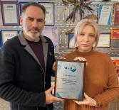 Вручение сертификатов партнерам SCaT